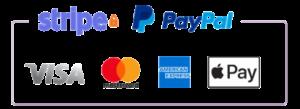 Slab Payments Logo - Stripe/PayPal/Apple